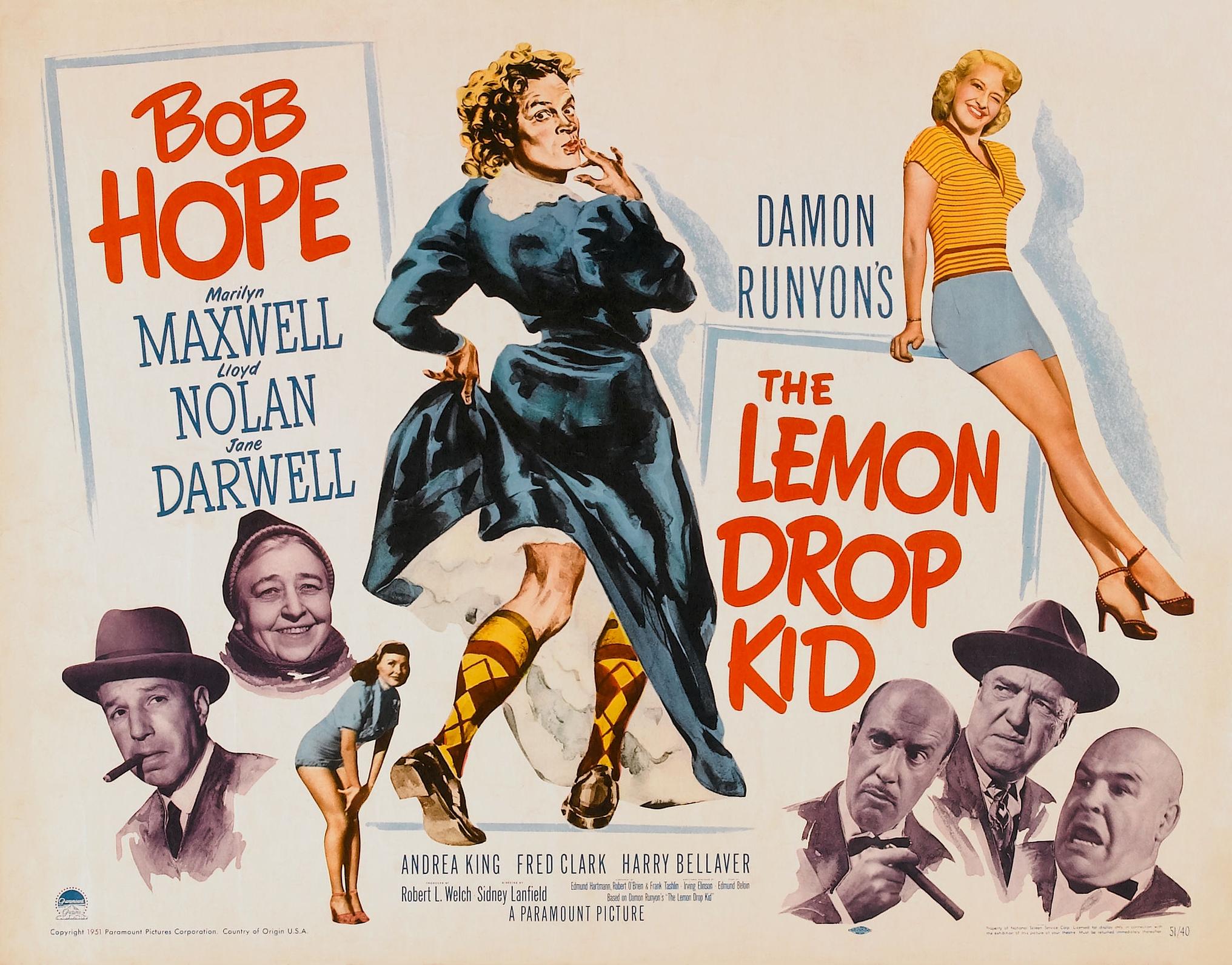 Poster - Lemon Drop Kid, The (1951)_02.jpg